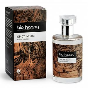 Eau de Toilette Spicy Impact de Bio Happy 100 ml.