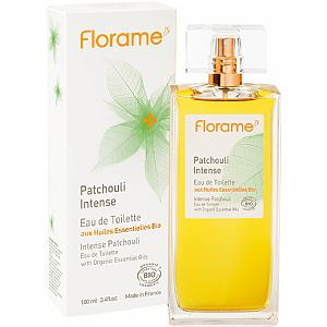 Eau de Toilette Patchouli Intenso Florame 100 ml.