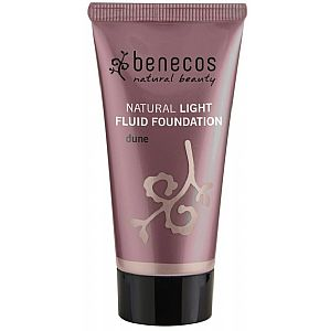 Maquillaje líquido natural light Dune Benecos 30 ml.