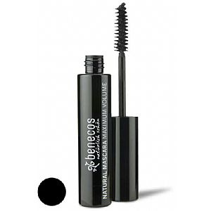 Mascara Benecos Natural Maximum Volume (Negro)