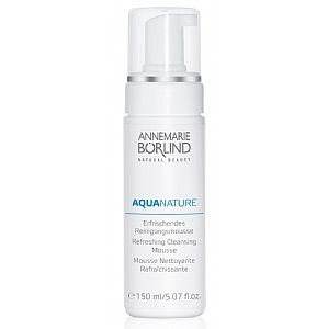 Aquanature Mousse limpiadora refrescante Annemarie Börlind 150 ml.