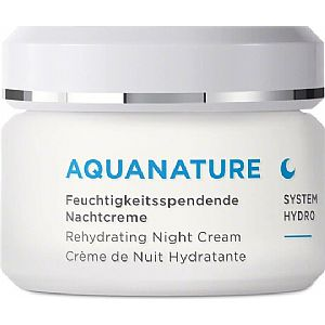 Aquanature Crema hialurónica 24h. Annemarie Börlind 50 ml.