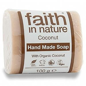 Jabón de Coco Faith in Nature 100 grs.
