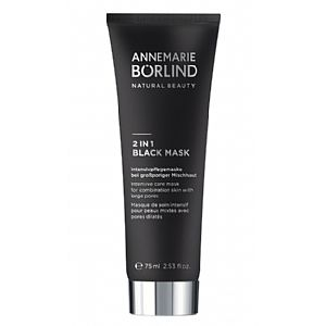 Mascarilla Negra 2 en 1 Annemarie Börlind 75 ml.