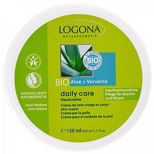 Crema multiusos Daily Care Aloe y Verbena Logona 150 ml.