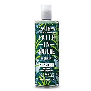 Champú de Romero Faith in Nature 400 ml.