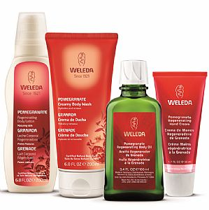 Pack exclusivo Granada Weleda 4 productos