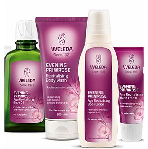 Pack exclusivo Onagra Weleda 4 productos