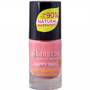 Mini Esmalte Benecos 8-FREE Bubble Gum 5 ml.