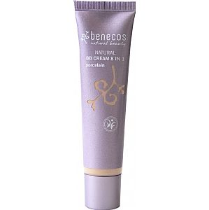 BB Cream 8 en 1 Benecos Porcelain 30 ml.