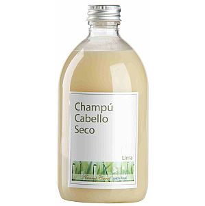 Champú con Lima (cabello seco) Natural Carol 500 ml.