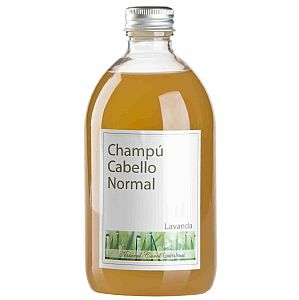 Champú con Lavanda (cabello normal) Natural Carol 500 ml.